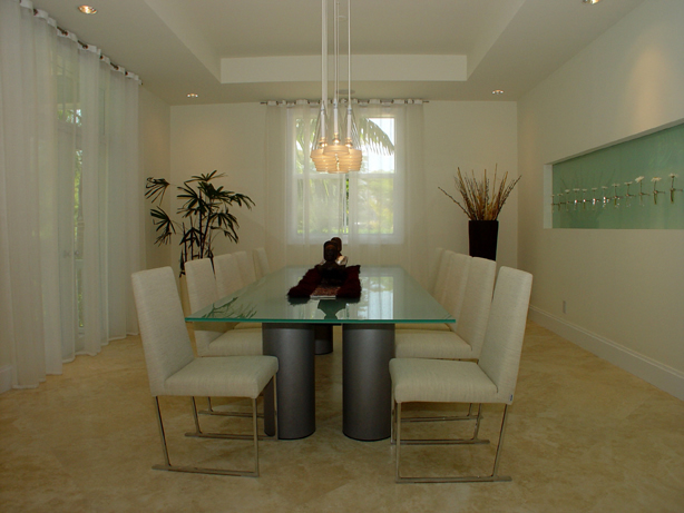 Dining Room Interior Designers Miami