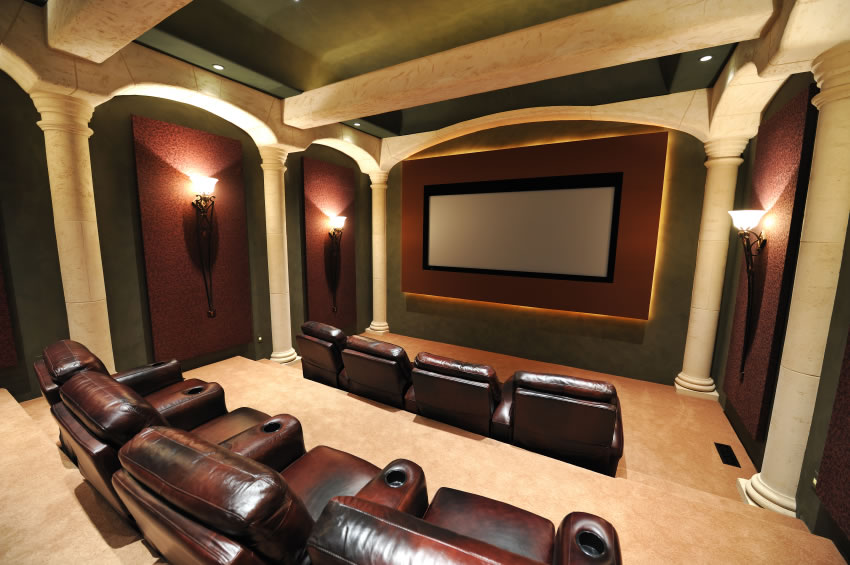 Captivating Home Theater 2 Design Inspirations